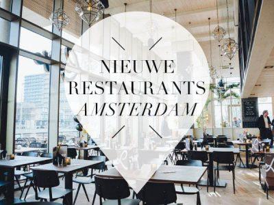 nieuwe restaurants amsterdam mei 2018