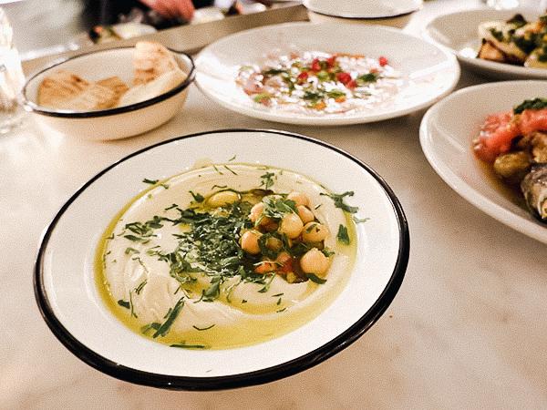 Hummus bij Neni Amsterdam