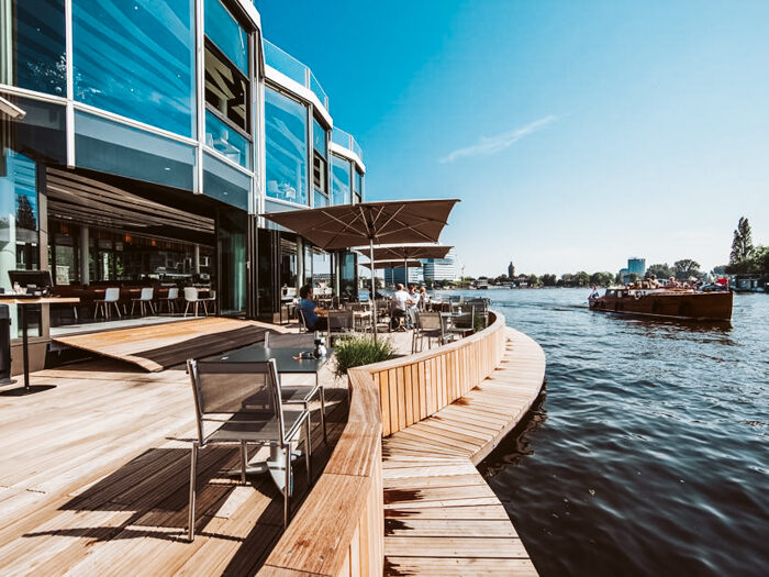 Restaurant Riva terrassen
