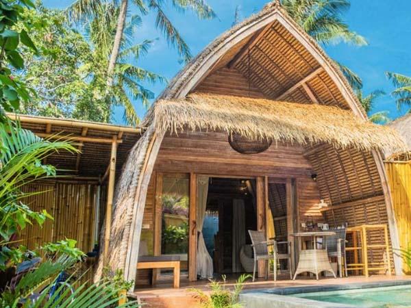 Anhata Tropical Private Villas, Gili Air - Beste boutique hotels gili eilanden
