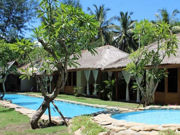 Dolcemare Resort, Gili Air - beste boutique hotels gili eilanden