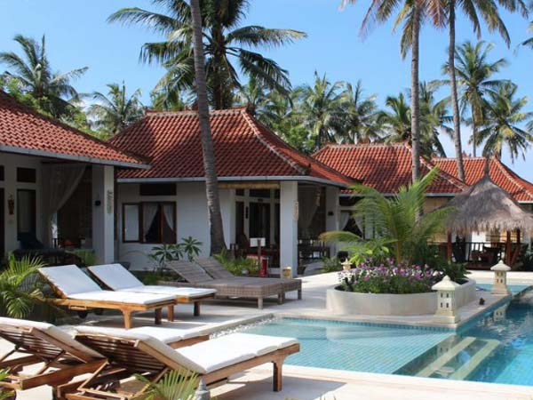Kebun Kupu Kupu, Gili Meno - Beste Boutique hotels Gili eilanden