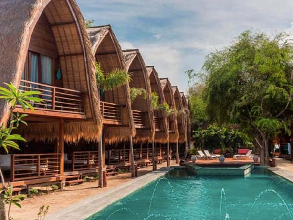 Mola2 Resort, Gili Air - beste boutique hotels gili eilanden