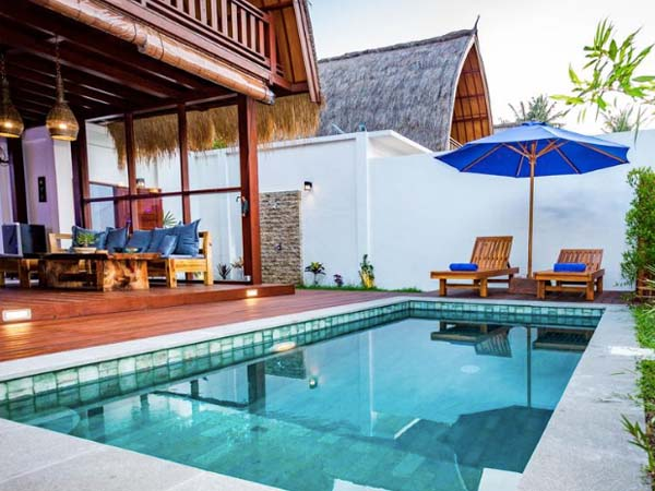 Sanctuary Villa and Resort Gili Air - Beste boutique hotels Gili eilanden