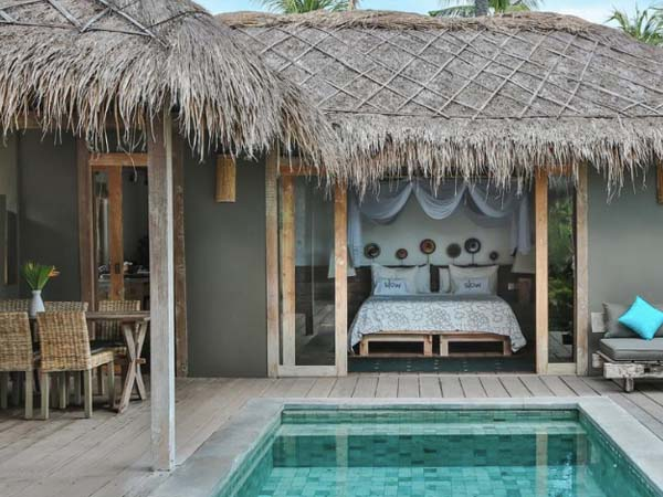 Slow Gili Air - Beste boutique hotels Gili eilanden