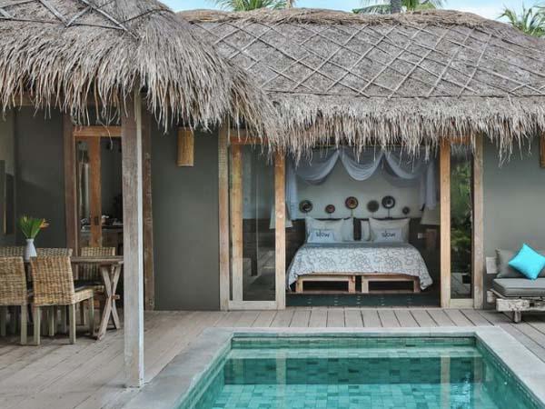 Slow Gili Air - Beste boutique hotels Gili eilanden