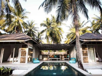 Sunset Palms Resort, Gili Trawangan - beste boutique hotels gili eilanden