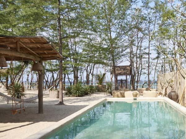 The Island Houses, Gili Meno - beste boutique hotels gili eilanden