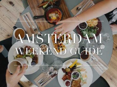 amsterdam weekend guide 20 21 22 juli