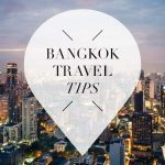 bangkok travel tips pointer