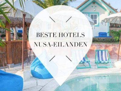 beste boutique hotels nusa eilanden
