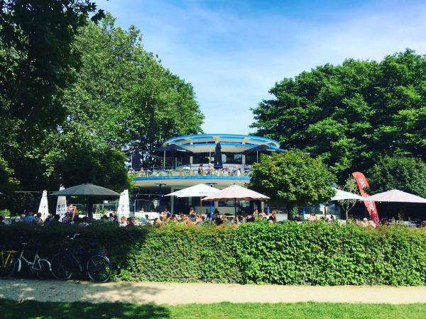 blauwe theehuis brouwerij het ij vondelpark
