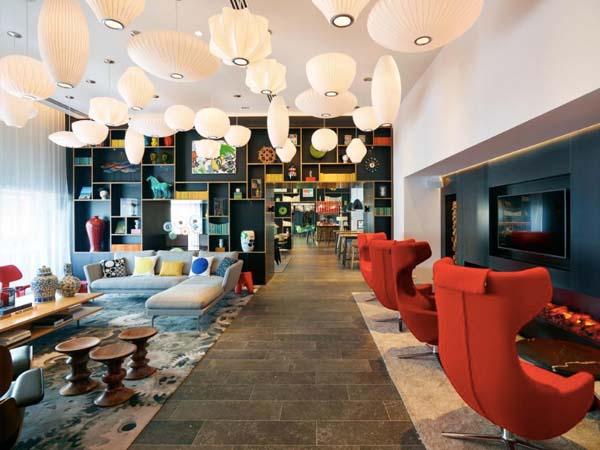 Citizen M, Parijs - betaalbare hotels parijs