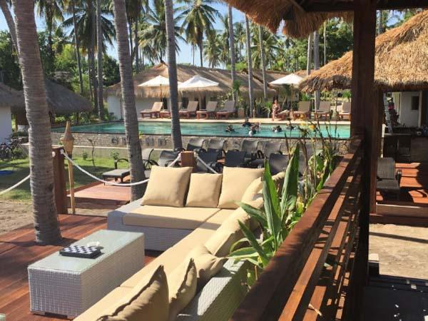 Grand Sunset, Gili Air - Beste boutique hotels gili eilanden