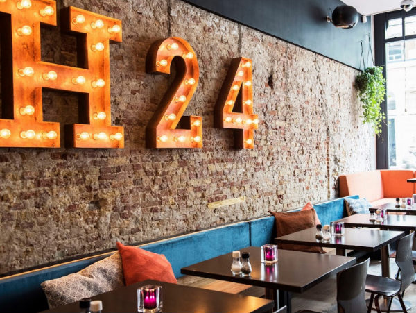 hotspots in de hartenstraat restaurant h24