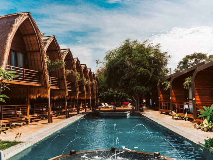 boutique hotels gili eiland