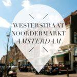 westerstraat noordermarkt amsterdam