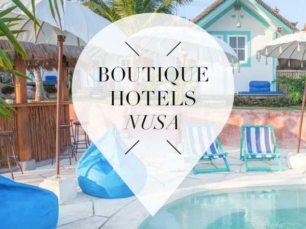 boutique hotels nusa pointer