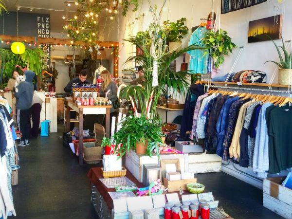 shoppen in San Francisco establish