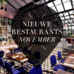 nieuwe restaurants november