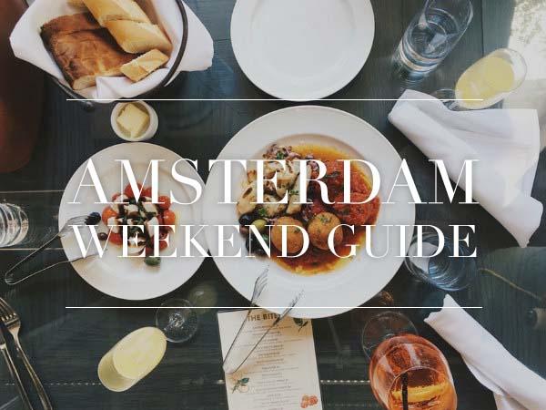 amsterdam weekend guide november