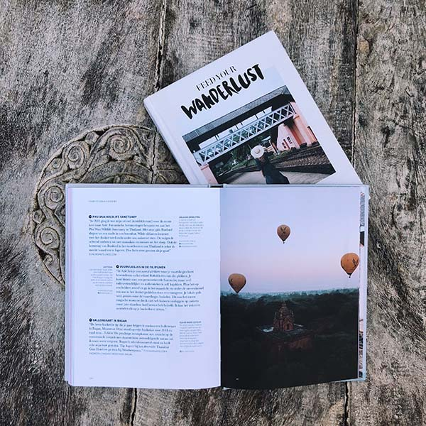 Feed Your Wanderlust boek