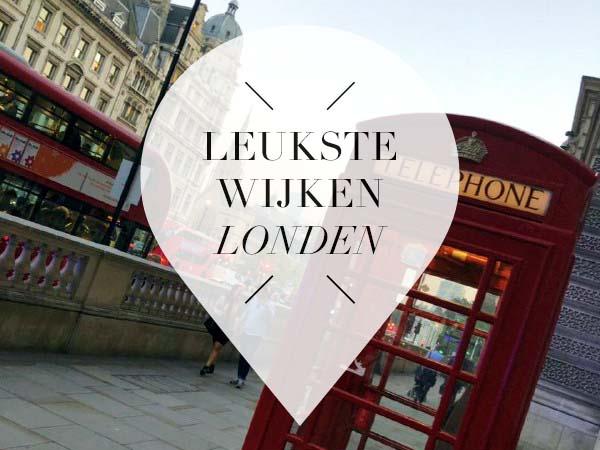 Londen wijken pointer