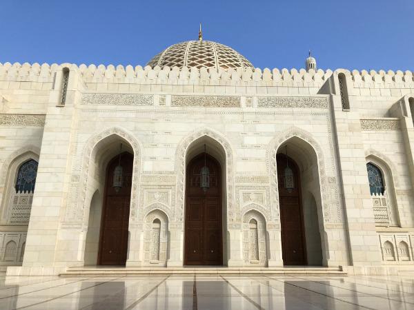 tips voor muscat oman moskee