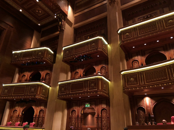 tips voor muscat Oman royal opera house muscat