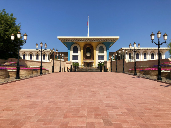 tips voor Oman al Alam palace