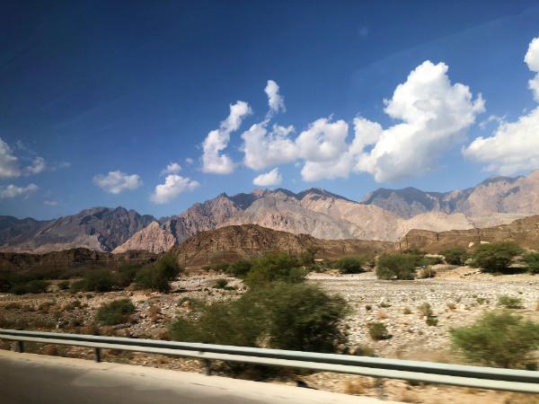 tips voor Oman bergen