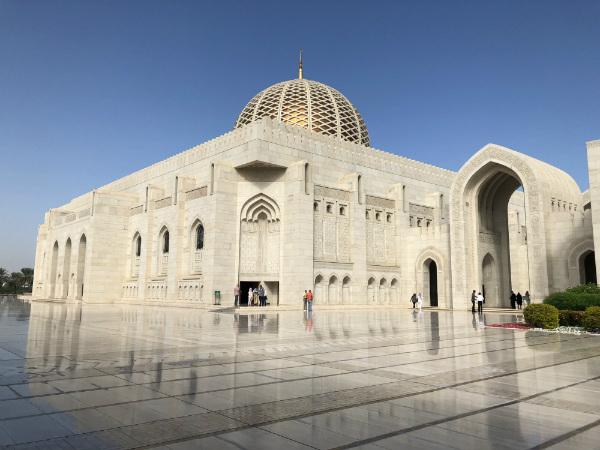 tips voor Oman moskee