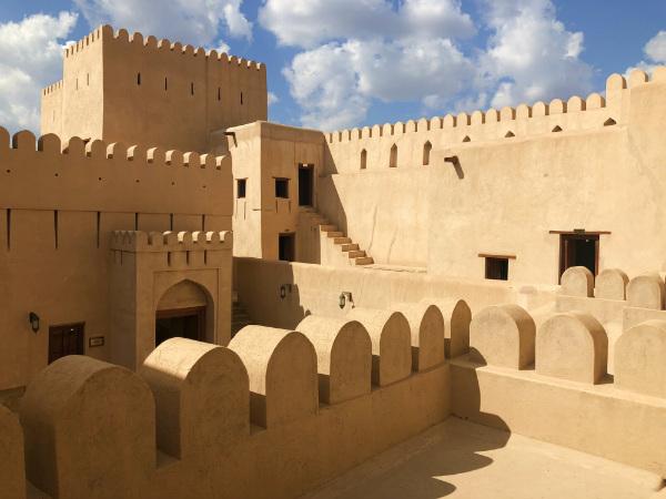 tips voor Oman nizwa fort