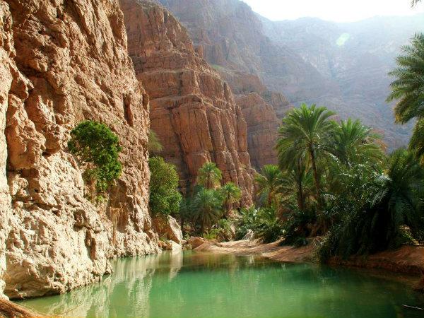 tips voor Oman wadi shab