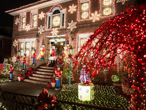 feestdagen in New York dyker heights