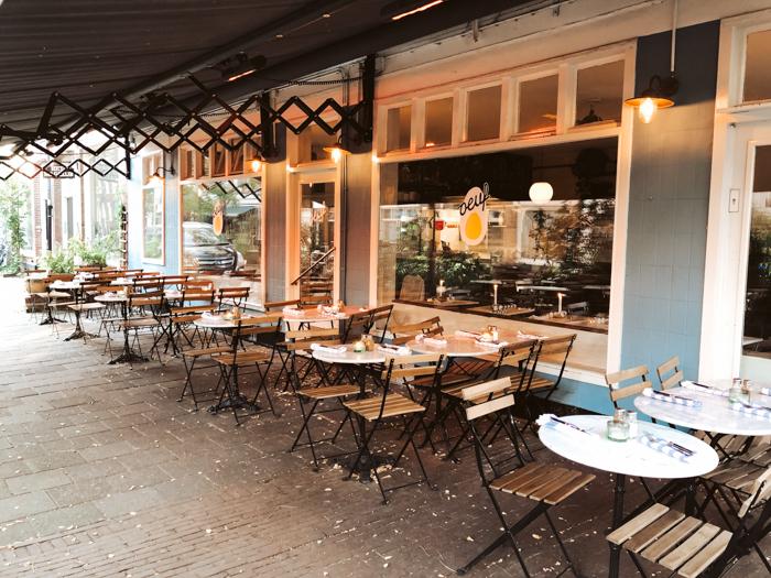 beste verwarmde terrassen Amsterdam