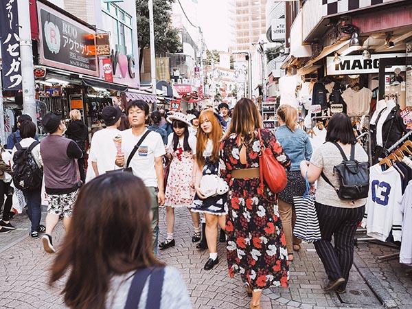 winkelen in Japan tokyo