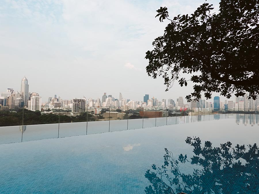 So Sofitel Bangkok Thailand pool