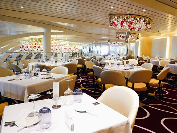 dining room Holland America Line