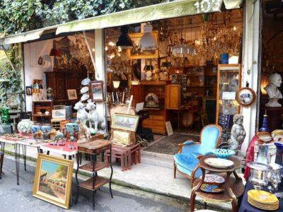 markten in Parijs