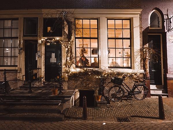 Restaurant Watergang Amsterdam