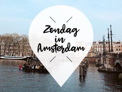 zondag 21 april in amsterdam