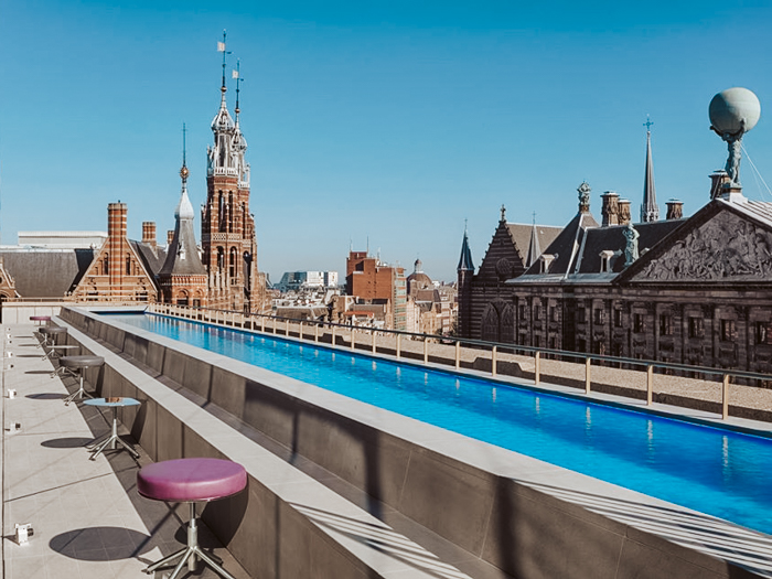 Rooftopbars Amsterdam
