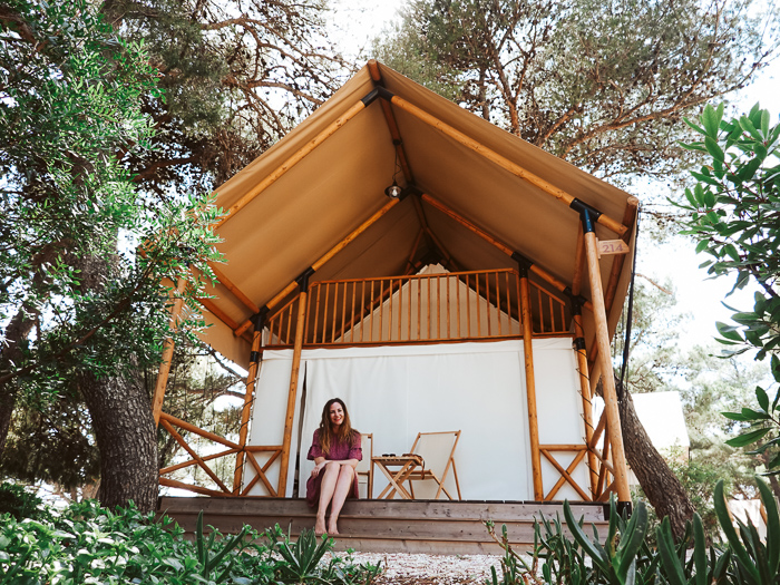 arena one glamping istrie kroatie
