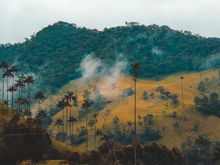 reis solo door colombia