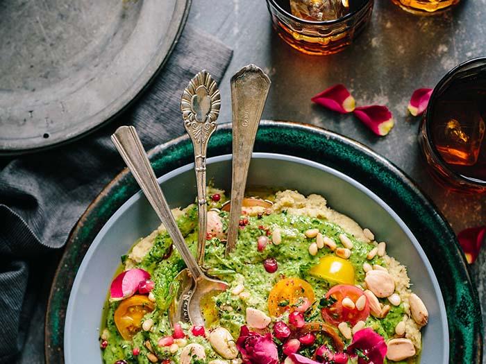 modern arabic food