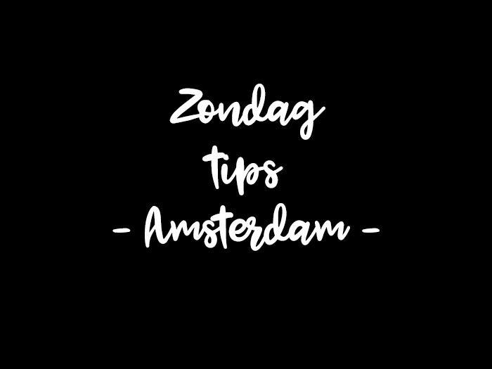 doen op zondag in Amsterdam