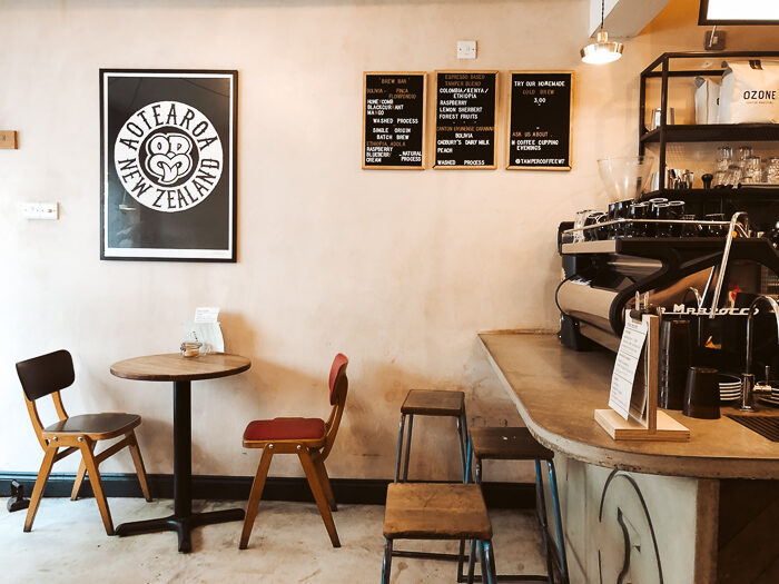 Tamper Coffee sheffield travel guide