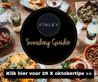 Fïnley Sunday Guide: 29 tips voor iedere zondag in oktober