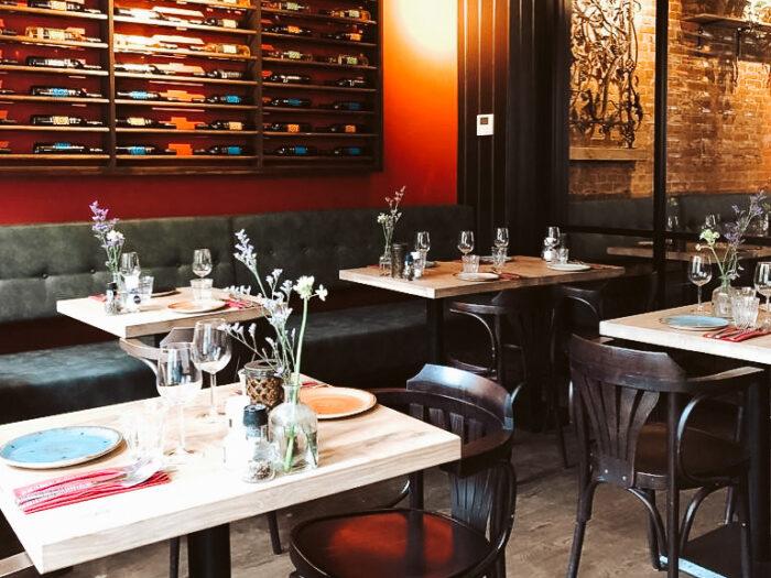 Grieks restaurant Oresti's Taverna in Amsterdam